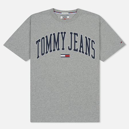 Мужская футболка Tommy Jeans Collegiate Light Grey Heather