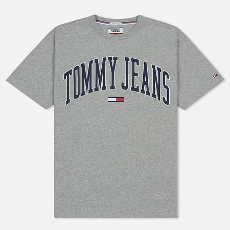 Мужская футболка Tommy Jeans Collegiate Light Grey Heather