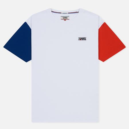 Мужская футболка Tommy Jeans Color Block Classic White/Multicolor