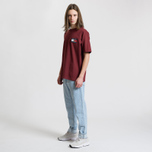 Мужская футболка Tommy Jeans Crest Flag Cabernet фото- 2
