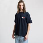 Мужская футболка Tommy Jeans Crest Flag Dark Sapphire фото- 3