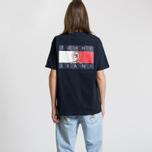 Мужская футболка Tommy Jeans Crest Flag Dark Sapphire фото- 5