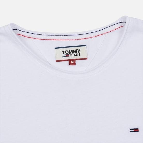 Мужская футболка Tommy Jeans Essential Jaspe Classic White