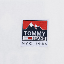 Мужская футболка Tommy Jeans Mountain Logo Back Graphic Classic White фото- 2