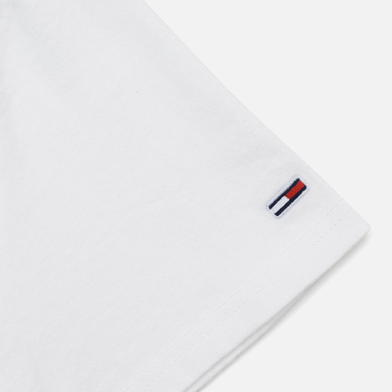 Мужская футболка Tommy Jeans Mountain Logo Back Graphic Classic White