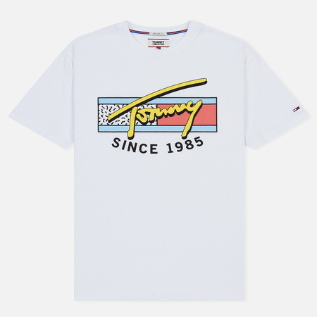 Мужская футболка Tommy Jeans Neon Script Classic White