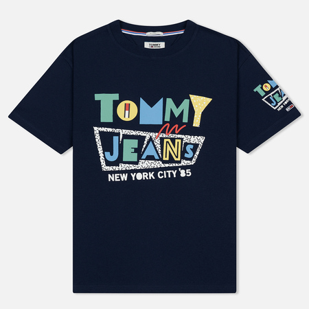 Мужская футболка Tommy Jeans Retro Geo Black Iris