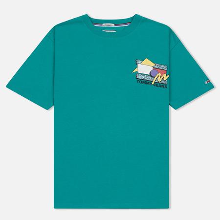 Мужская футболка Tommy Jeans Retro Geo Dynasty Green
