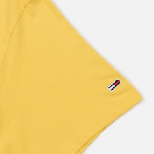 Мужская футболка Tommy Jeans Small Logo Aspen Gold фото- 3