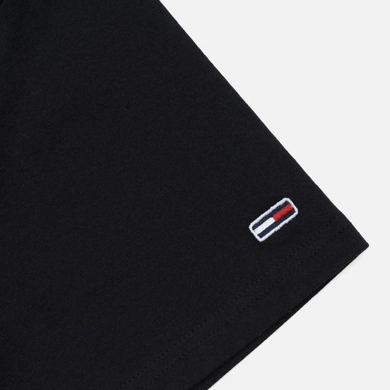 Мужская футболка Tommy Jeans Straight Small Logo Regular Fit Black