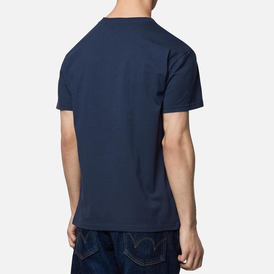 Мужская футболка Tommy Jeans Straight Small Logo Regular Fit Black Iris