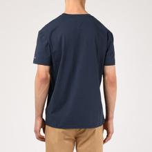 Мужская футболка Tommy Jeans Straight Small Logo Regular Fit Black Iris фото- 3