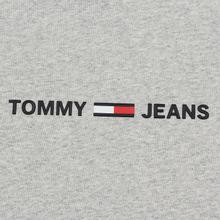 Мужская футболка Tommy Jeans Straight Small Logo Regular Fit Light Grey Heather фото- 2