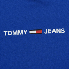 Мужская футболка Tommy Jeans Straight Small Logo Regular Fit Surf The Web фото- 2