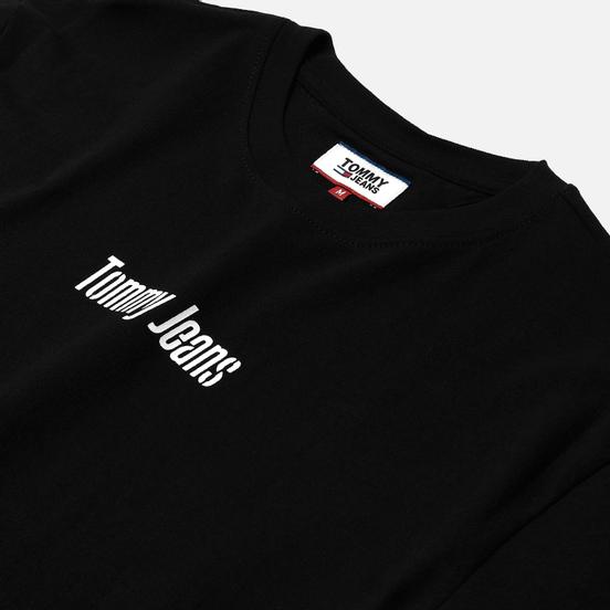Мужская футболка Tommy Jeans Text Back Logo Black
