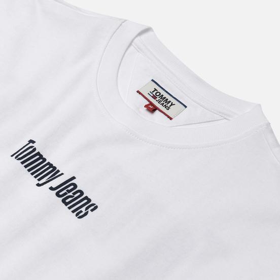 Мужская футболка Tommy Jeans Text Back Logo White