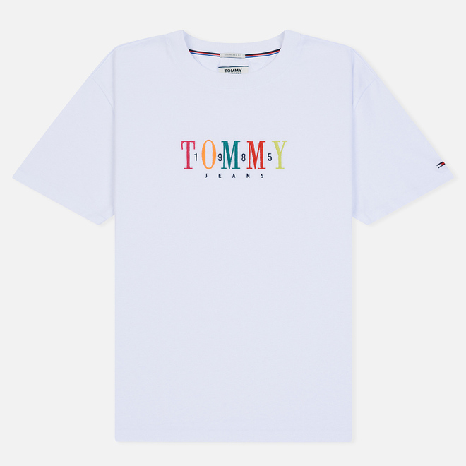 Мужская футболка Tommy Jeans Tommy 1985 Classic White