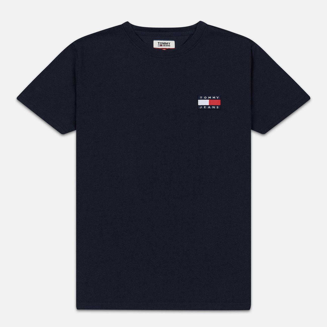 Мужская футболка Tommy Jeans Tommy Badge Black Iris