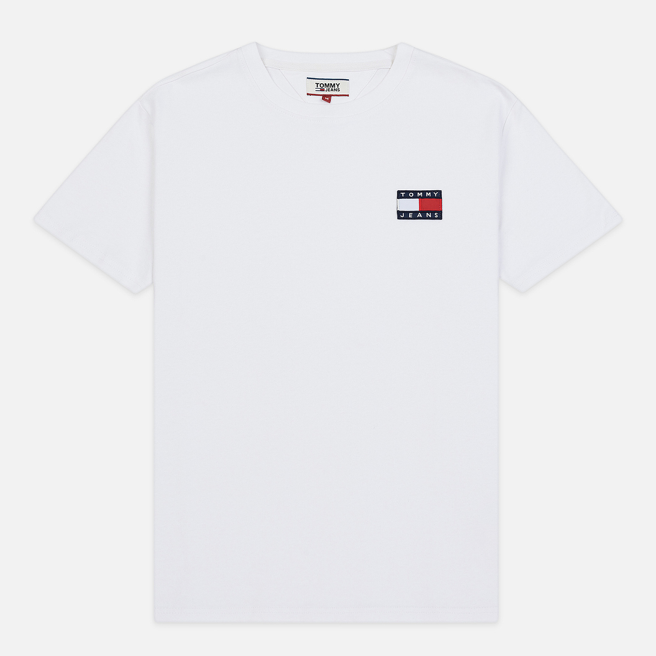 Мужская футболка Tommy Jeans Tommy Badge Classic White