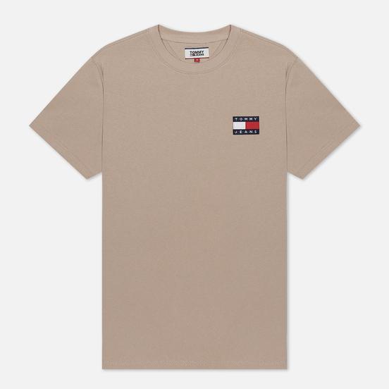 Мужская футболка Tommy Jeans Tommy Badge Stone