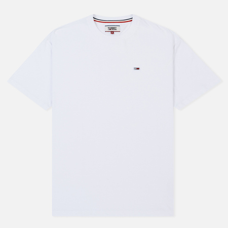 Мужская футболка Tommy Jeans Tommy Classic White