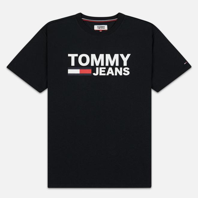 Мужская футболка Tommy Jeans Tommy Classics Logo Black