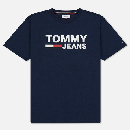 Мужская футболка Tommy Jeans Tommy Classics Logo Black Iris