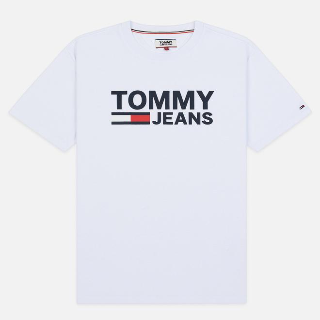 Мужская футболка Tommy Jeans Tommy Classics Logo Classic White