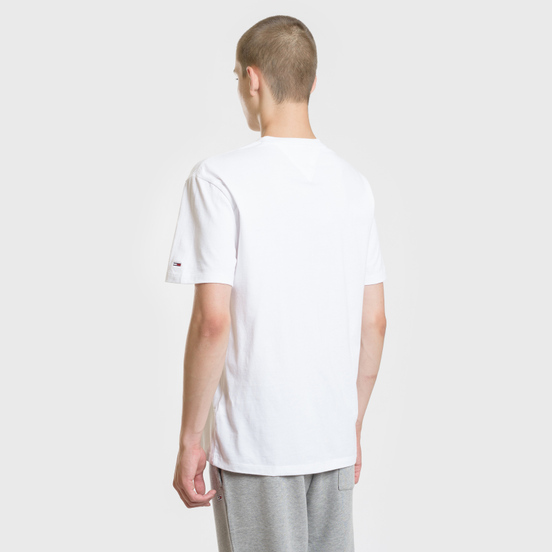 Мужская футболка Tommy Jeans Tommy Script Classic White