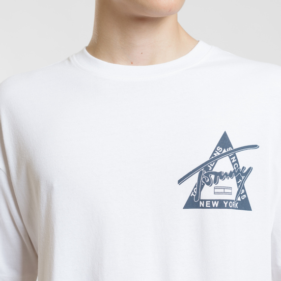 Мужская футболка Tommy Jeans Washed Graphic Classic White