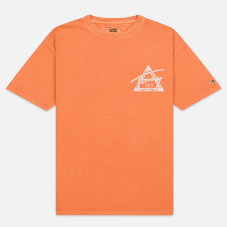 Мужская футболка Tommy Jeans Washed Graphic Russet Orange