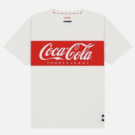 Мужская футболка Tommy Jeans x Coca-Cola Crew Neck Bright White
