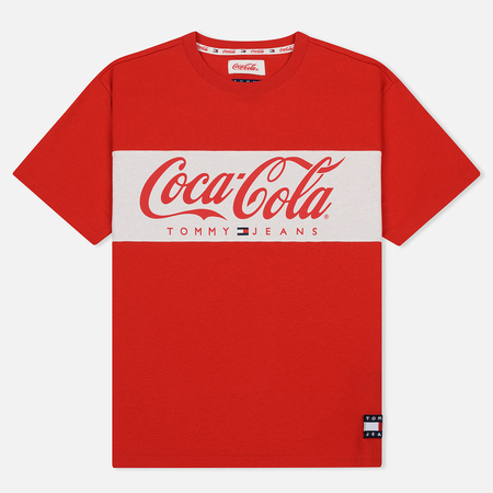 Мужская футболка Tommy Jeans x Coca-Cola Crew Neck Red