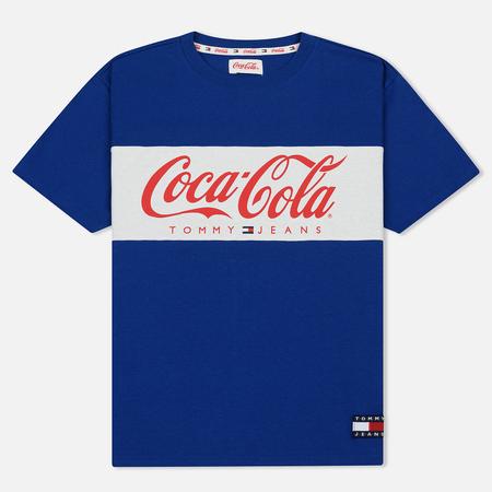 Мужская футболка Tommy Jeans x Coca-Cola Crew Neck Sodalite Blue