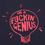 Мужская футболка TSPTR Fuckin Genius Navy/Red фото- 2
