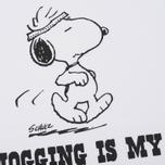 Мужская футболка TSPTR Jogging Is My Thing White фото- 2