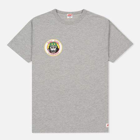 Мужская футболка TSPTR King Kong Company Pocket Grey Marl