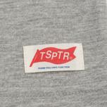 Мужская футболка TSPTR King Kong Company Pocket Grey Marl фото- 3