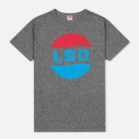 TSPTR LSD Print Men's t-shirt Grey Marl