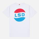 Мужская футболка TSPTR LSD Print White фото- 0