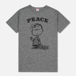 Мужская футболка TSPTR Peace Grey Marl фото- 0