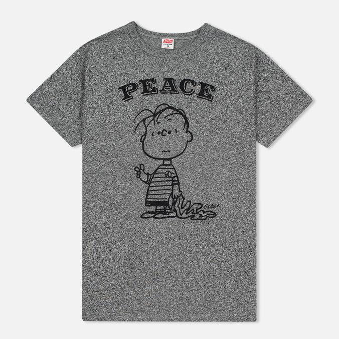 Мужская футболка TSPTR Peace Grey Marl