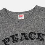 Мужская футболка TSPTR Peace Grey Marl фото- 1