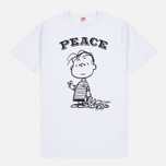 Мужская футболка TSPTR Peace White фото- 0