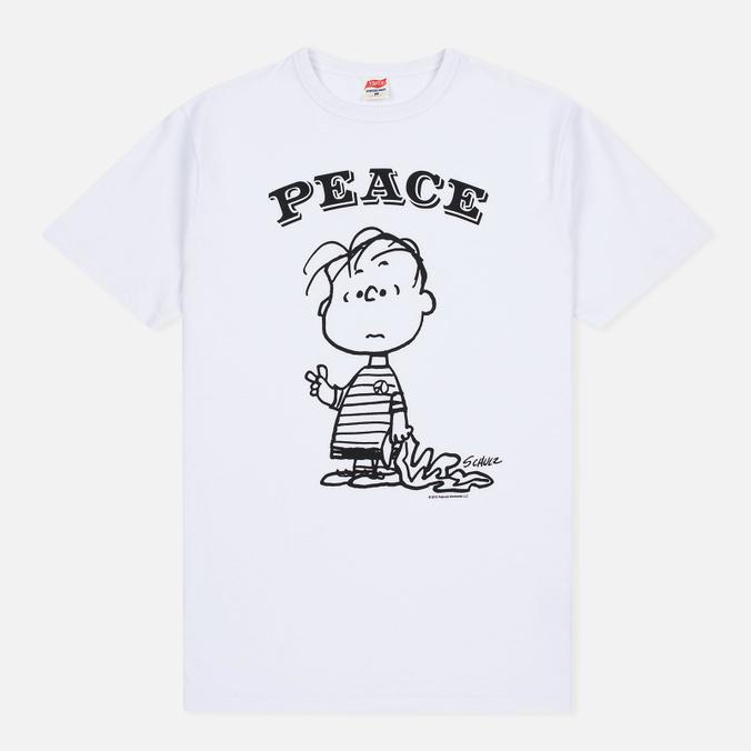 Мужская футболка TSPTR Peace White