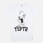 Мужская футболка TSPTR Popeye Spinach White фото- 0