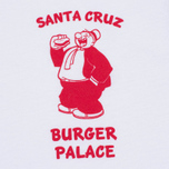 TSPTR Santa Cruz Burger Palace Men's t-shirt White photo- 2