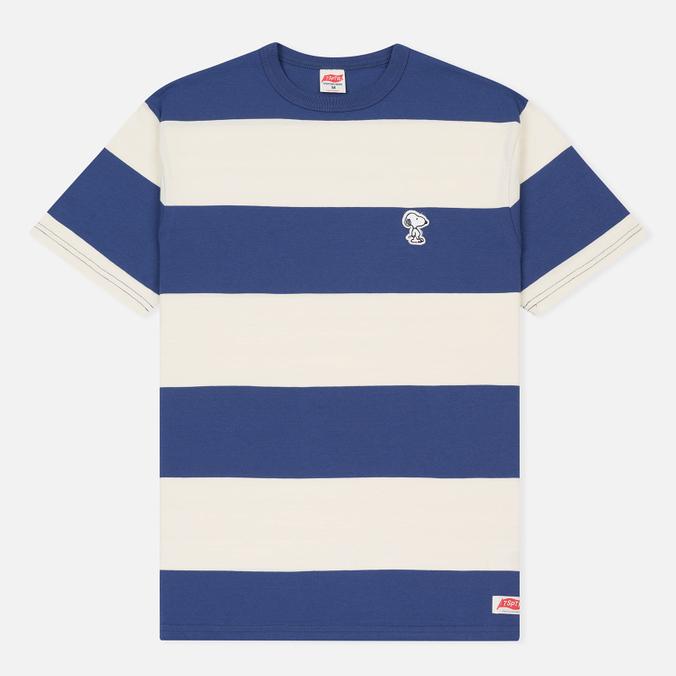 Мужская футболка TSPTR Snoopy Applique Border Antique White/Royal