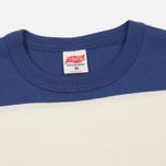 Мужская футболка TSPTR Snoopy Applique Border Antique White/Royal фото- 1