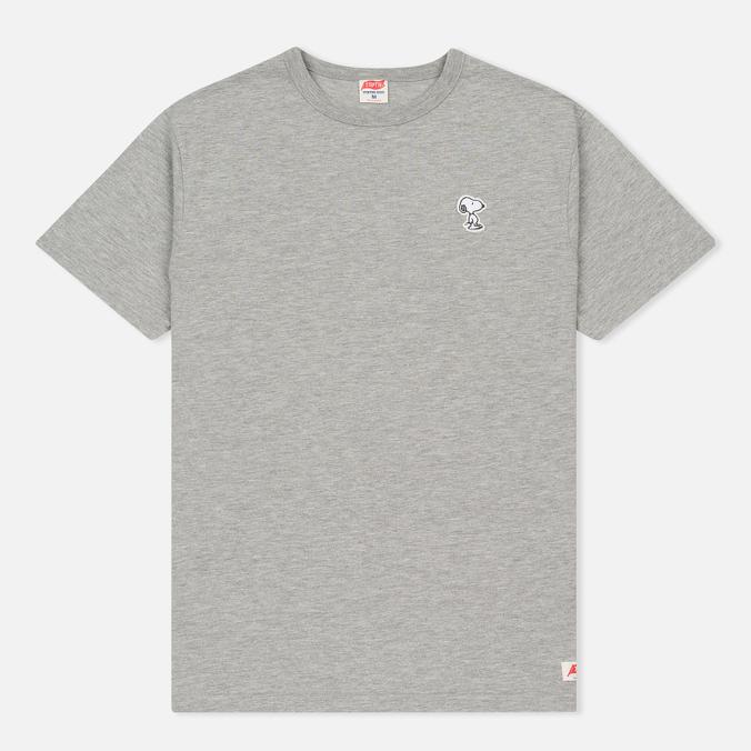 Мужская футболка TSPTR Snoopy Applique Grey Marl